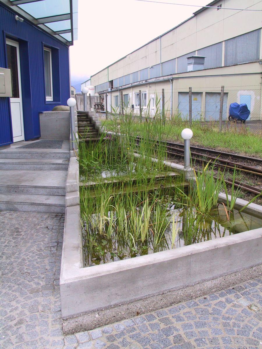Wasser architekturb ro di oliver vykruta for Garten pool vorschriften