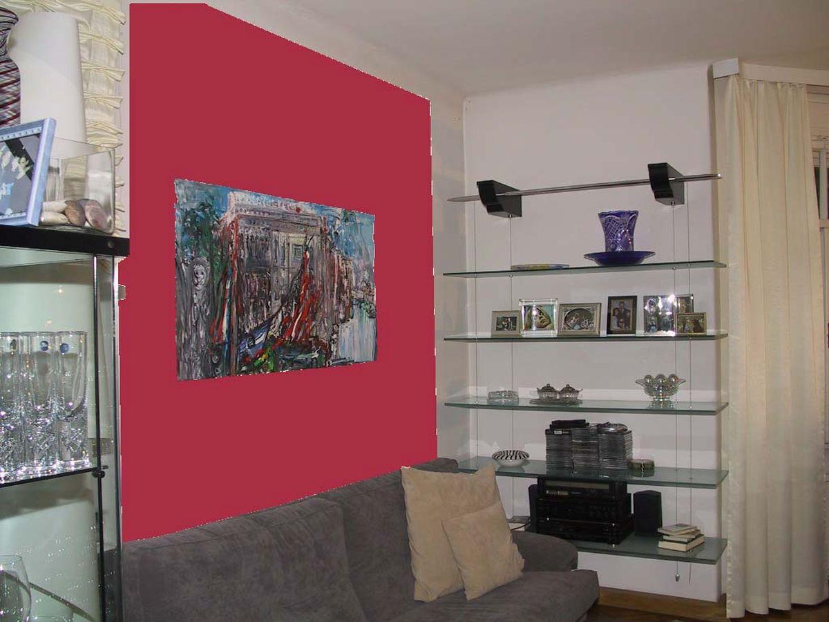 Innenraum wohnraum farbe architekturb ro di oliver for Wohnraum farbe