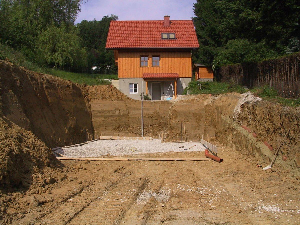 Begrüntes Flachdach zubau garage schleißheim architekturbüro di oliver vykruta
